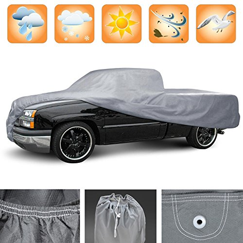 3 Layer Premium Truck Cover Outdoor Tough Waterproof Lining – Full-Size XXXL