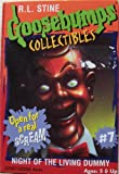 R.L.stine Goosebumps Collectibles #7 Night of the Living Dummy Slappy the Dummy