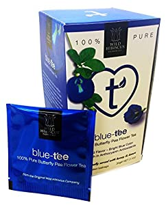 Blue Tee - blauer Tee 100% Butterfly Pea Flower Tea 20