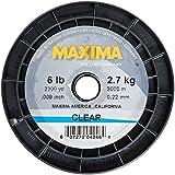 Maxima Fishing Line Service Spools, Clear, 6-Pound/3300-Yard