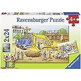 Ravensburger Puzzles Construction Site, Multi Color (2 X 24 Pieces)