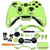 Super Custom Replacement Wireless Game Controller Shell Case Cover Kit For Xbox 360 - Includes Button Set, Torx...