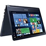 """Samsung - Notebook 9 Spin 13.3"""" Touch-Screen Laptop - Intel Core I7 - 8GB Memory - 256GB Solid State Drive - Pure Black"""