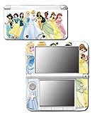 Princess Friends Belle Jasmine Tiana Cinderella Ariel Pocahontas Mulan Video Game Vinyl Decal Skin Sticker Cover for Original Nintendo 3DS XL System