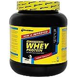 MuscleBlaze Whey Protein, 1 Kg / 2.2 Lb Vanilla
