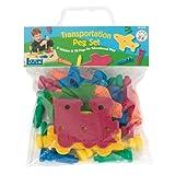 Lauri Toys Transportation Peg Set