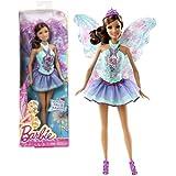 "Mattel Year 2013 Barbie ""Fashion Meets Fairytale"" Series 12 Inch Doll Set Teresa As Fairy (Bcp21) In Blue Lavender..."