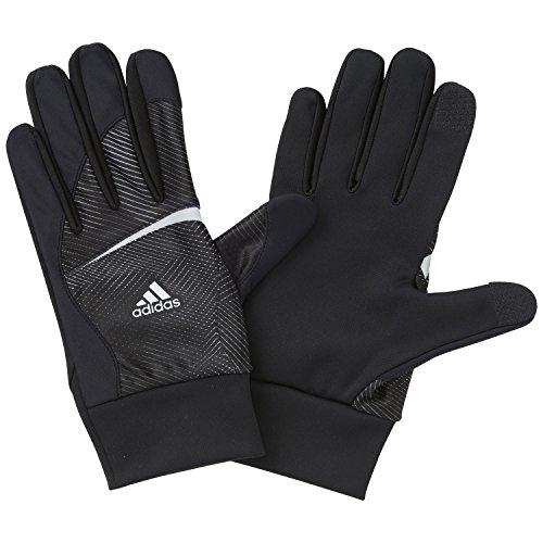 (アディダス)adidas aZ サーマルグローブ JEF44 S04895 ブラック/ホワイト L