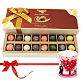 Valentine Chocholik Belgium Chocolates - Mixed Truffles Surprise With Love Mug