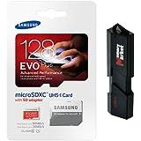 Samsung Evo Plus 128GB MicroSD XC Class 10 UHS-1 Mobile Memory Card For Samsung Galaxy S7 & S7 Edge With USB 3.0...