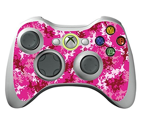 Game Xcel Xbox 360 Leather Texture Controller Skin Protective Vinyl Sticker For X360 Slim Wireless Game Controller... - B017KQGYEW