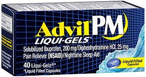 pm liqui gels ibuprofen pain