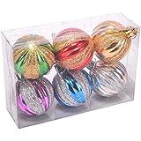 Christmas Shiny Multicolour Hanging Balls