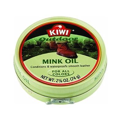 Amazon.com: Kiwi Outdoor Mink Oil Shoe Polish, 2-5/8 Oz