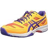 ASICS Women S Gel-Solution Slam 2 Tennis Shoe Mango/Lavender/Hot Coral 11 B(M) US