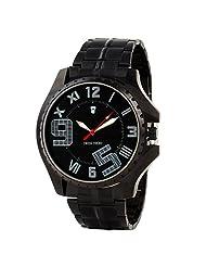 Swiss Trend Black Dial Mens Wrist Watch(Artshai-1643-D...