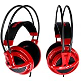 SteelSeries Siberia V2 - Red Dragon Army Edition - Full Size Gaming Headset (PN/51129)