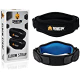 Tennis Elbow Brace By SPARTAN STRENGTH (Pack Of 2) - Effective Tennis Elbow & Golf Elbow Support Band With Adjustable...