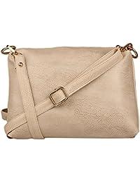 Speed X Fashion Women's Sling Bag (Beige)