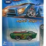 Hot Wheels Asphalt Jungle Series #4 Deora GREEN Amazon Surf Co. Tampo 1:64 Scale