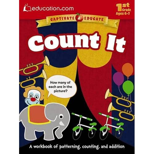 Count It: A workbook of patterning, counting, and addition