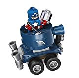 LEGO Super Heroes Mighty Micros: Captain America vs. Red S 76065