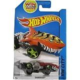 Hot Wheels 2014 Street Beasts Hw City Red Sharkruiser 52/250