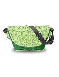 Atrangee Twirly Messenger Bag (Green)