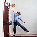 The Dirty Dunk - The Original Over-the-Door Basketball Hoop Laundry Hamper