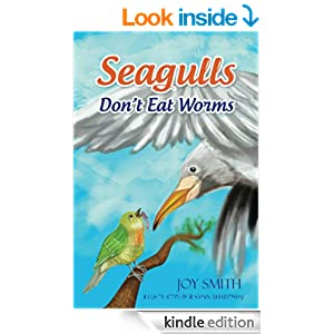 seagulls dont eat worms book cover