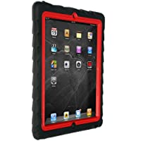 iPad 2/3/4 - Drop Tech - Ruggedized Case - Black-Red
