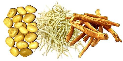 Image result for सफ़ेद मूसली, कौंच के बीज और अश्वगंधा