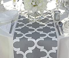 Fynn Grey Table Runner