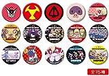 Most lottery MINI night Roh Yatterman cans badge all 15 species set Banpresto