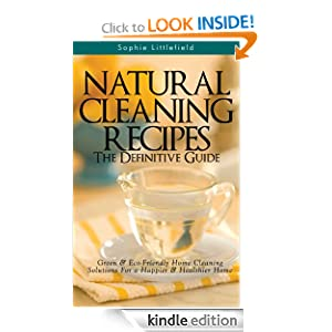 FREE Natural Cleaning Recipes.