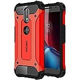 Cubix Moto G4 Plus Case Rugged Armor Case For Motorola Moto G4 Plus (Red)
