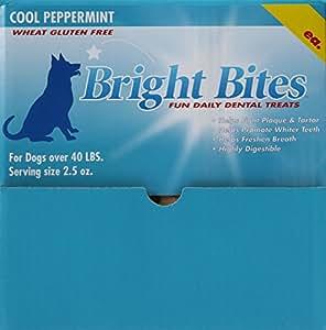 Amazon.com : Bright Bites Daily Dental Dog Treats, Cool