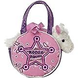 Aurora World Fancy Pal Pet Plush Carrier, Rodeo Princess