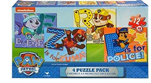 Paw Patrol Gift Set-Dominoes, Sidewalk Chalk, Tin 24 PC ...