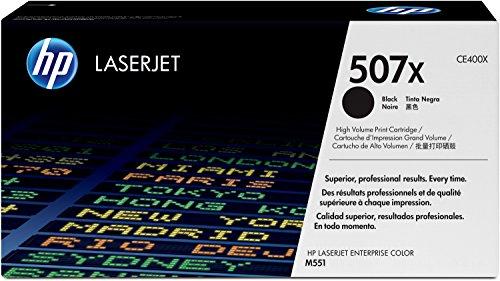 CE400X  High Yield Toner Cartridge, 11,000 Page Yield, Black