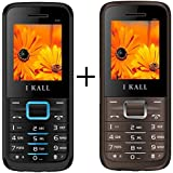 I KALL K88(Blue+Brown Color) Set Of Two Mobile Combo