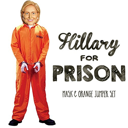 Trump and Clinton Halloween Costumes - Choose Edgy or Funny - Hillary for Prison Costume