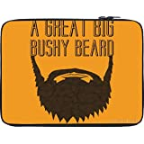 Snoogg Great Big Bushy 2775 12 To 12.6 Inch Laptop Netbook Notebook Slipcase Sleeve