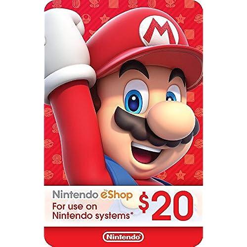 eCash - Nintendo eShop Gift Card $20 - Switch / Wii U / 3DS [Digital Code]