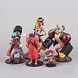 Anime One Piece Film Z Luffy Usopp Franky Chopper Brook PVC Action Figure Collection Model Toys Dolls 5pcs/set OPFG060