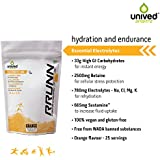 Unived Rrunn During Isotonic Electrolyte Sports Drink Mix - 893 G (Orange Flavour)