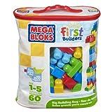 Mega Bloks First Builders Big Building Bag (Classic) (60-Piece)