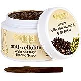 BodyHerbals Anti Cellulite Body Scrub, Natural Coffee Olive Vitamin- E Beauty, Bath & Body, Boody Scrubs (125g)