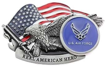 Amazon.com: Real American Hero US Air Force Belt Buckle