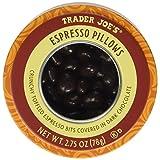 Trader Joe's Espresso Pillows Crunchy Toffeed Espresso Bits Covered In Dark Chocolate 2.75 Oz